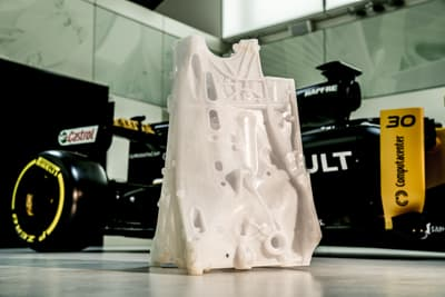 3D Systems 3D Printing Productivity Drives R&D at Renault Sport Formula One Team