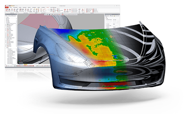 Design X 2019 Digital Auto Hood
