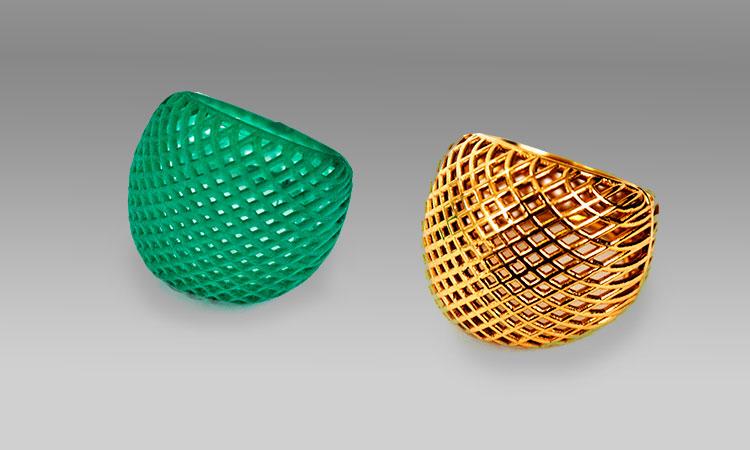 joyas personalizadas usando la impresión 3D