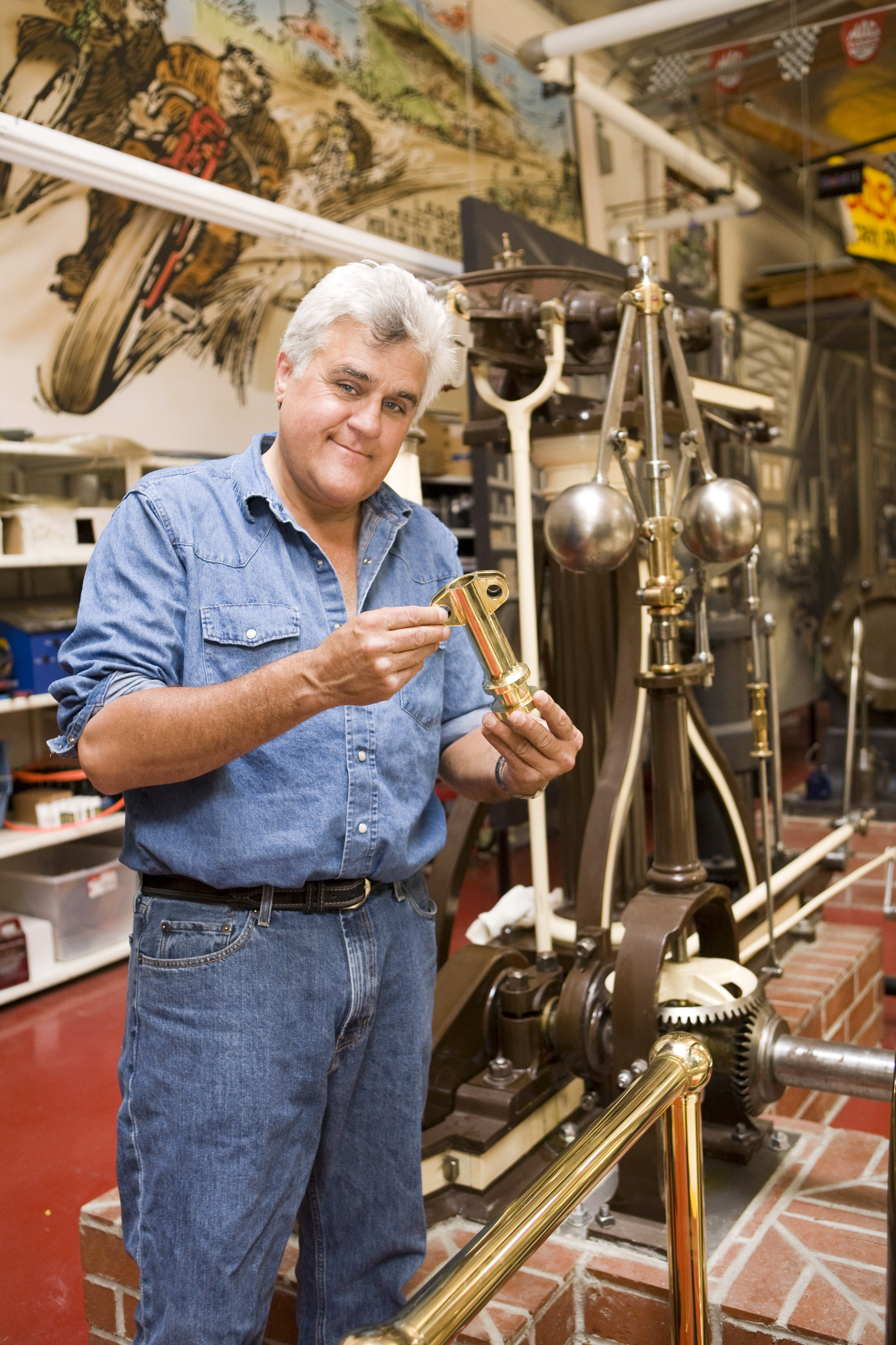 Jay Leno Steam Engine