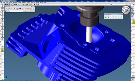GibbsCAM powerful toolpath verification simulates the programmed machining solution