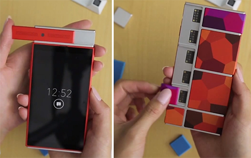 project ara, endo, 3d printed, phone, google