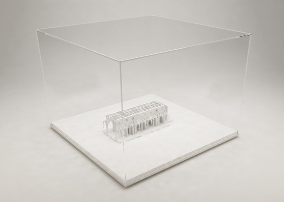 Scale Model Designed For Hootsmans Architects