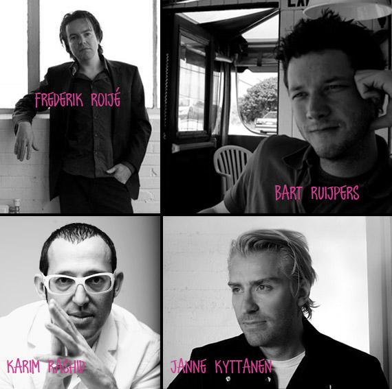 FrederikRoije-BartRuijpers-JanneKyttanen-KarimRashid-FreedomOfCreation-Talents