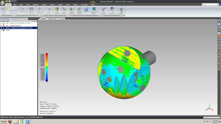 Fast 3D PDf reporting tools for inspection