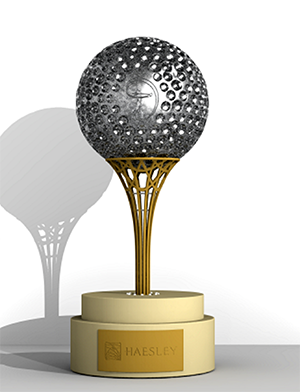 Haesley Trophy by Demille and Geomagic Freeform