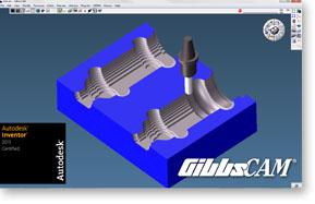 Autodesk Certifies GibbsCAM for Autodesk Inventor 2013