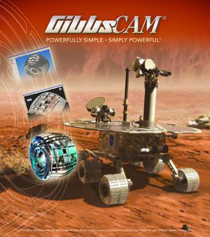 GibbsCAM Mars Rover
