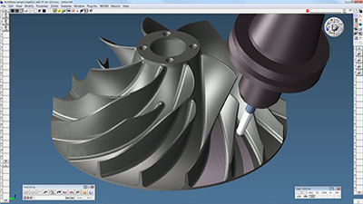 GibbsCAM Simplifies Machining Turbomachinery Components