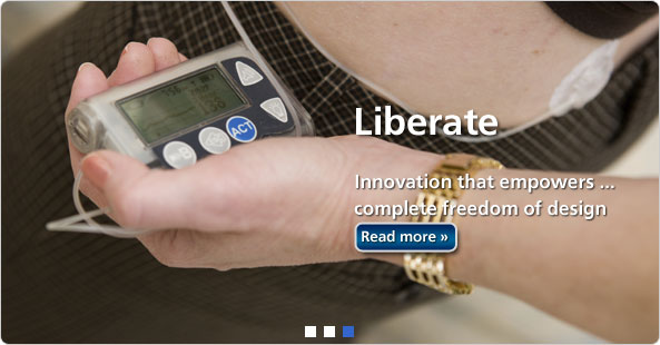Liberate - Innovation that empowers...complete freedom of design