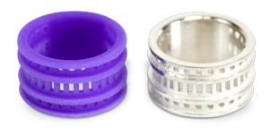 3D Systems VisiJet M2 Cast Wax Rings