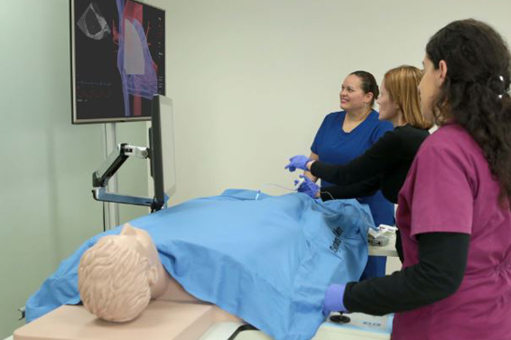 Professor Sandra Suárez, Inter-American University Uses the Simbionix ANGIO Mentor Suite for Radiology Technologist Program