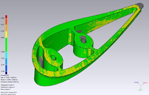 3D Inspection of support part