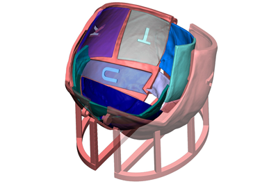 3D Systems VSP Cranial Guide Render