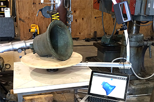3D scans of bells allows perfect reproduction of shape and sound