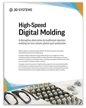 High-speed digital molding white paper
