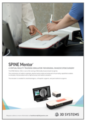 SPINE Mentor Brochure