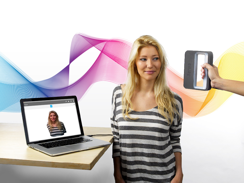 Sense 3D scanner with Mac