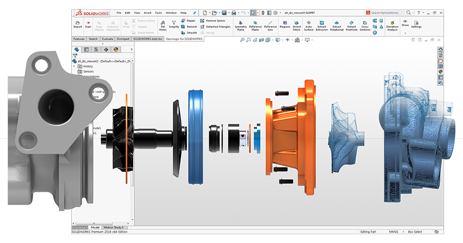 Geomagic for Solidworks ???????o???¨é?¢???????????° Solidworks CAD ??o?¨????éa?