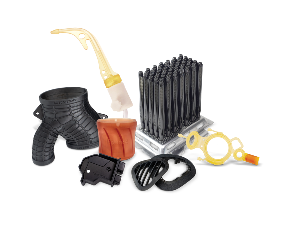 Production-grade materials for 3D Systems Figure 4 platform