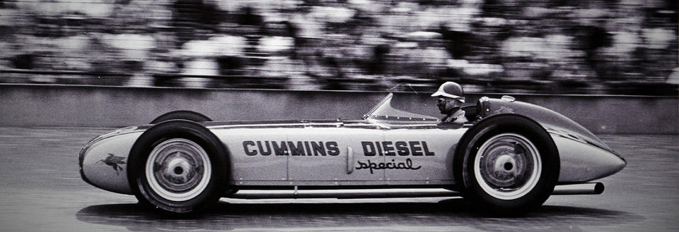 #28 Cummins Diesel Special at the 1952 Indy 500