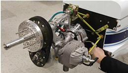 The SIERRA UAV engine assembly