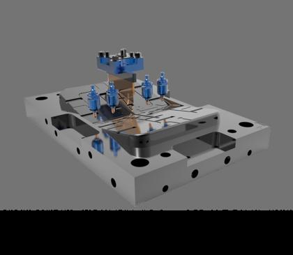 Cimatron 为型腔模具、冲压模具和零部件制造提供了重要优势