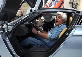 Jay leno 3D scanning with 3D systems geomagic