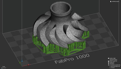 Ease of use with 3D Sprint print preparation and management software