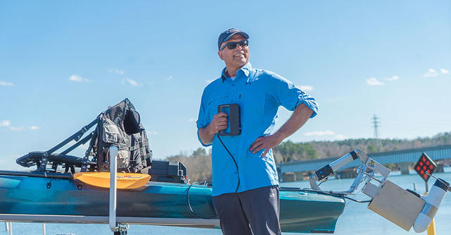 Sense Scanning Kayak Project