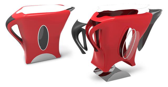 Geomagic Freeform 基于三维体素的雕刻软件中的电水壶设计