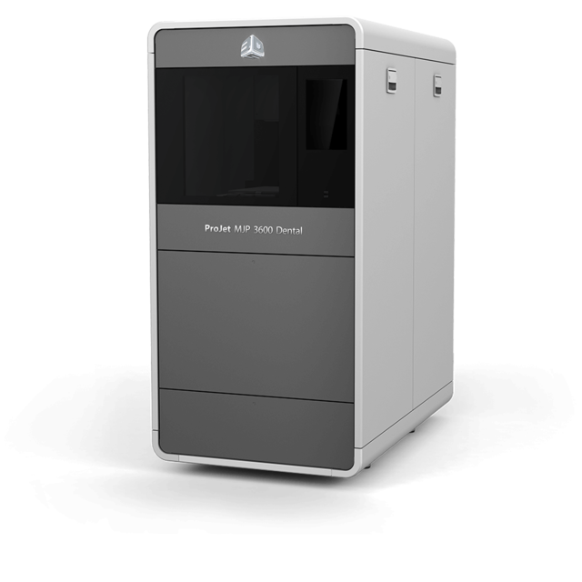 Get A Quote For The Projet Mjp 3600 Dental 3d Printer 3d