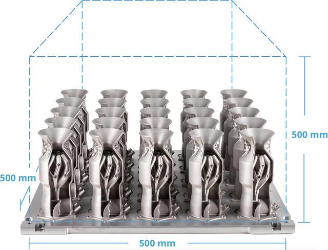 dmp 8500 25 metal parts