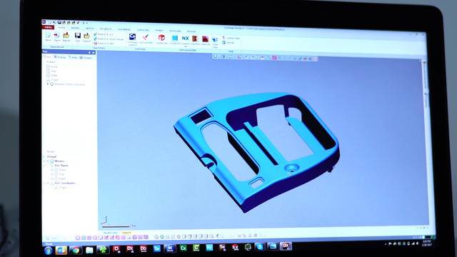 Design updates by 3D Systems aerospace application engineers