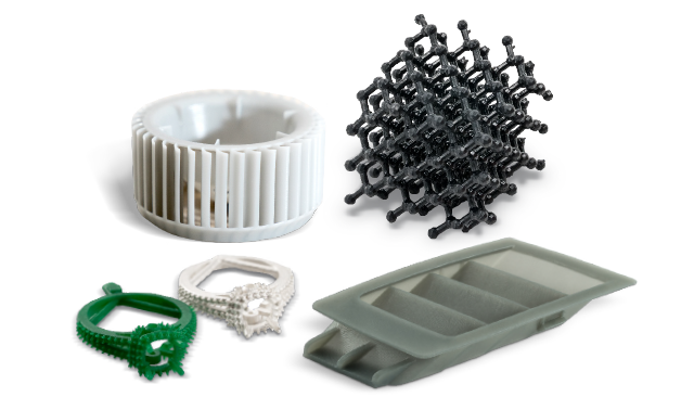 Figure 4 broad range of industrial materials