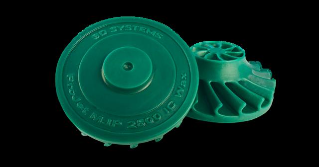 3D Systems ProJet MJP 2500 IC Wax Cast Turbine