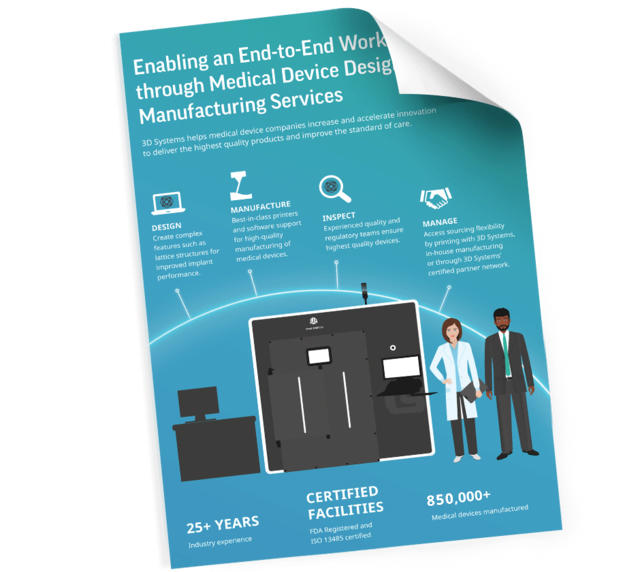 Medical Device Design and Manufacturing | 3D Systems
