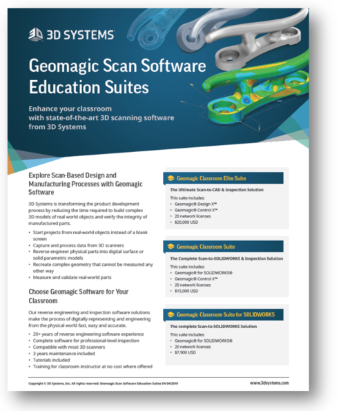 Software Educational Suites from 3D Systems | 3D Systems