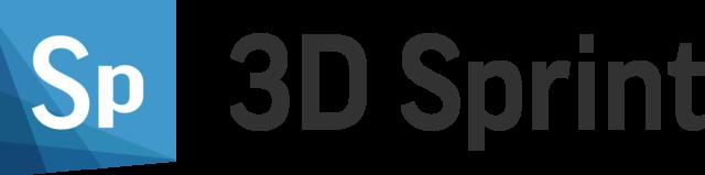 3D Sprint Logo