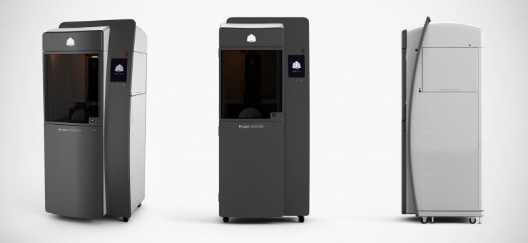 ProJet 6000 3D Printer Overview