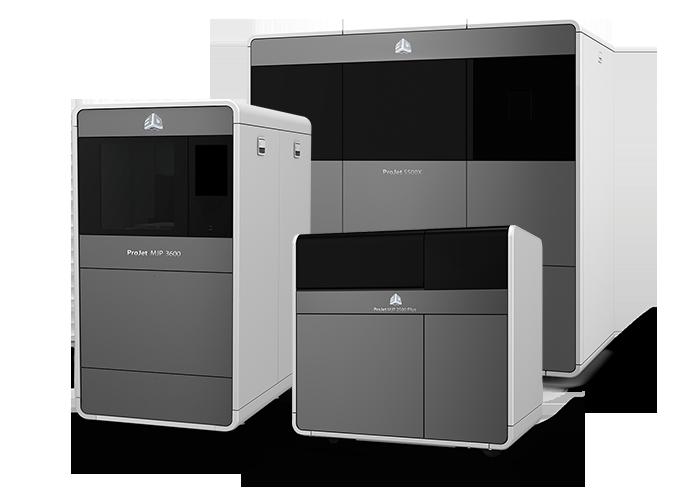 Stampanti 3D Systems ProJet MJP