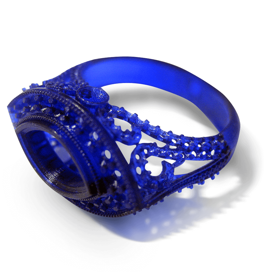3D Systems Accura Sapphire Ring