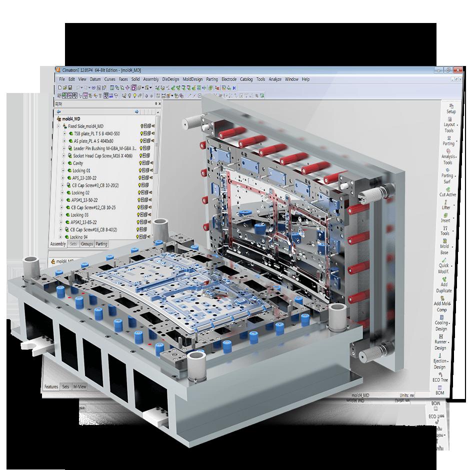 3d Home Design Software Demo: Cimatron: Die