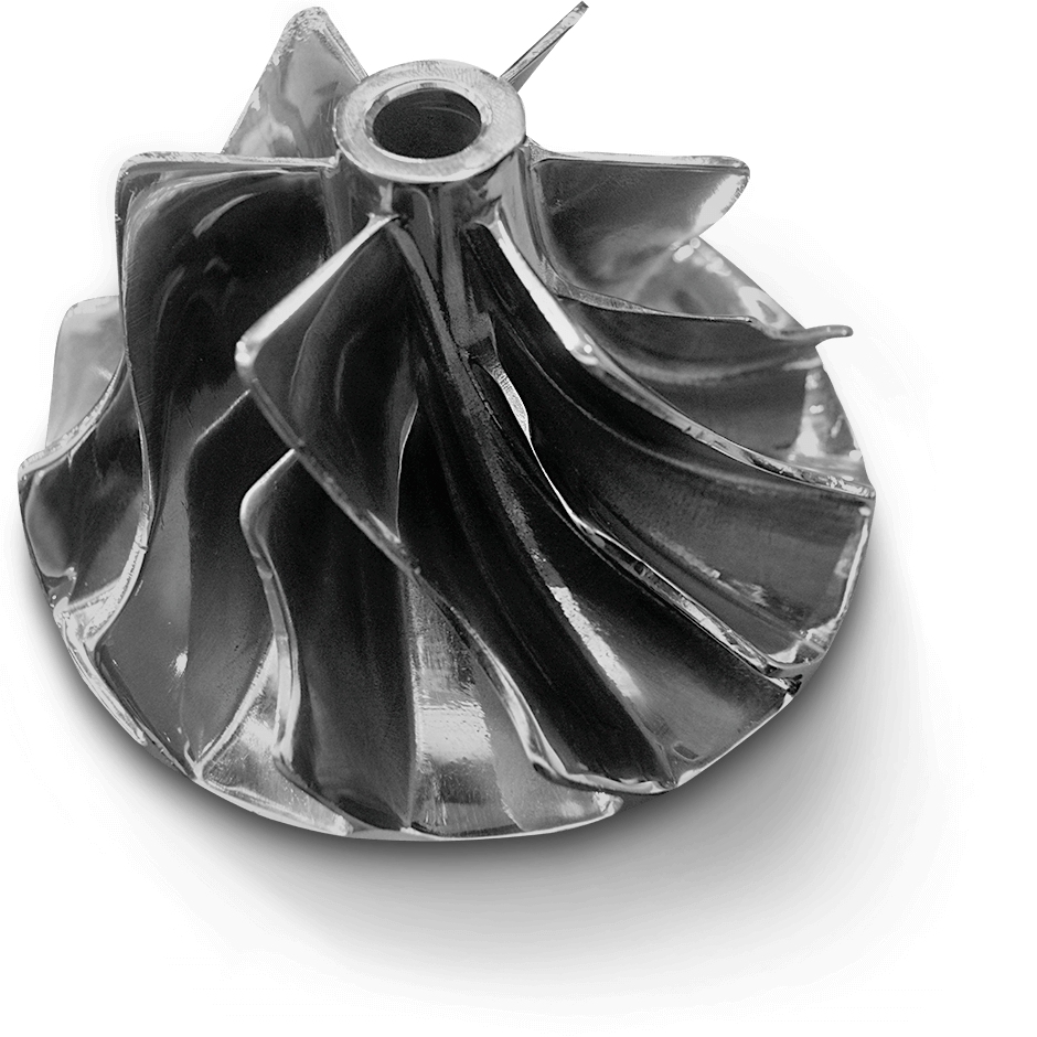 3D Systems DMP LaserForm Stainless 316L Impeller
