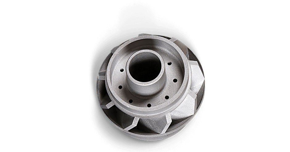 3D Systems ProX DMP Metal Impeller