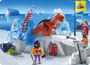"PLAYMOBIL-Dinosaur-Series won treasured Award ""Toy Innovation 2004"""