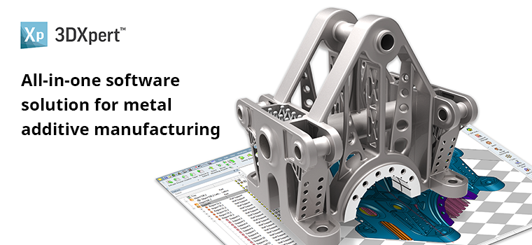 3D Systems 3DXpert Software for Metal Additive Manufacturing