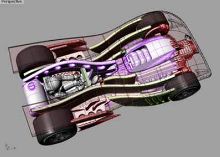 The Outside Speeds Product Design with High Quality 3D