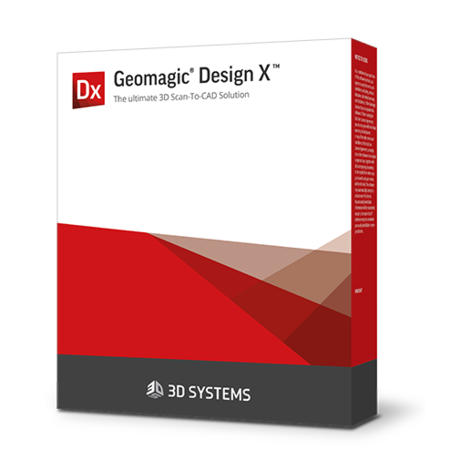 Geomagic Design X scan to CAD software