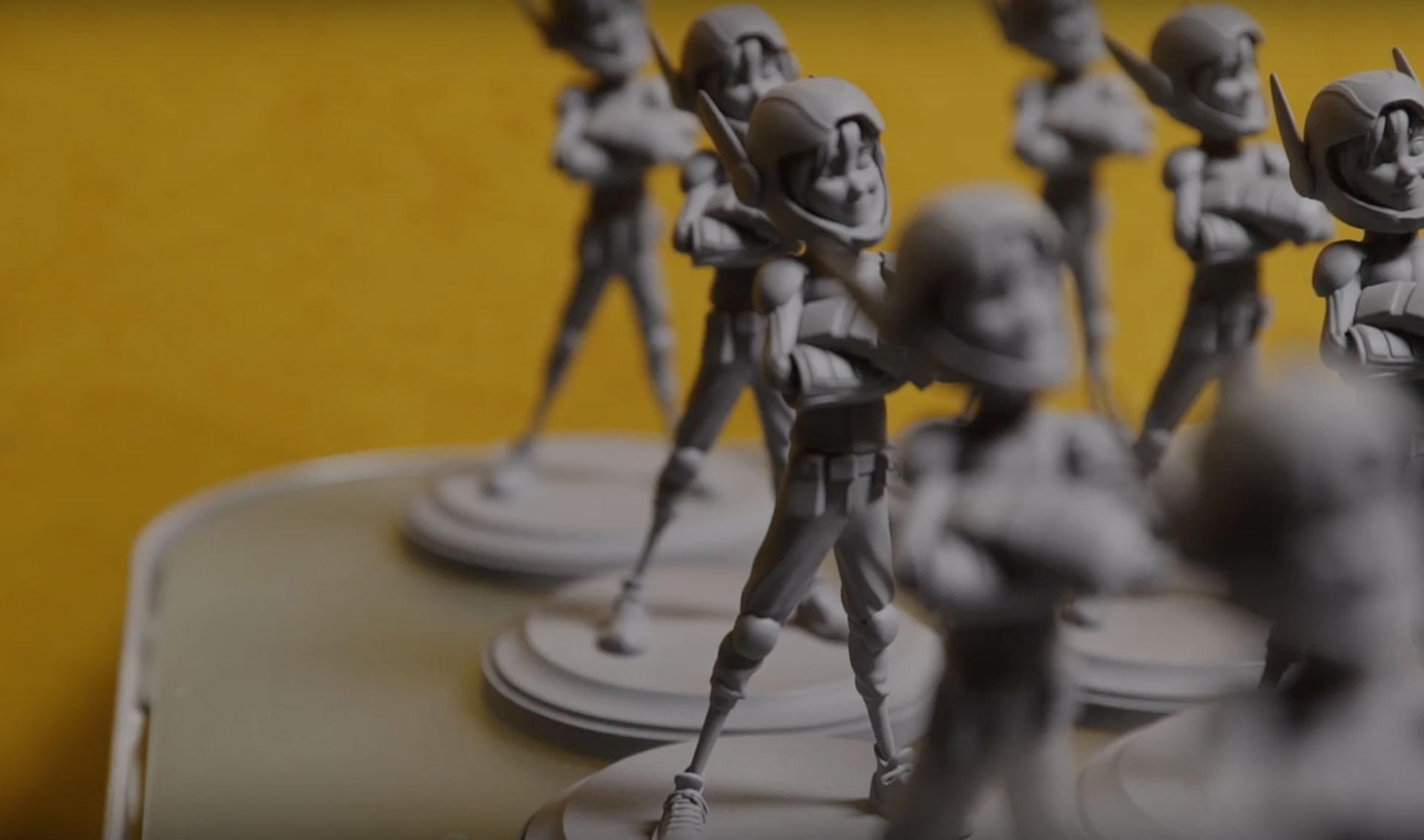 3D scanning of entertainment figurines for FX and manufacturing
